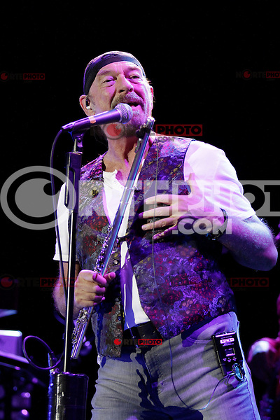 Singer and flute player Ian Anderson during a concert of the Thick as a brick tour at the Tempodrom, Berlin, Germany, 20.05.2012...Credit: Scherf/face to face /MediaPunch Inc. ***FOR USA ONLY***
