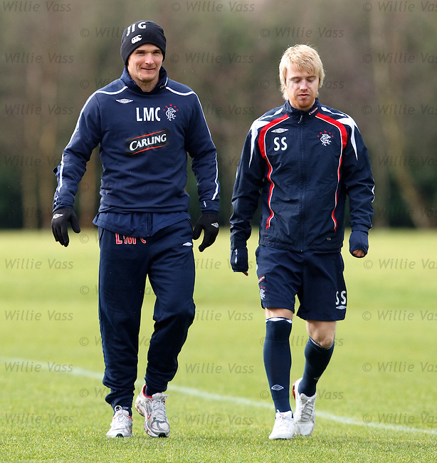 Lee McCulloch and Stevie Smith back running after injury