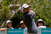Adam Scott (AUS) on the 2nd tee during round 1 of the Australian PGA Championship at  RACV Royal Pines Resort, Gold Coast, Queensland, Australia. 19/12/2019.<br /> Picture TJ Caffrey / Golffile.ie<br /> <br /> All photo usage must carry mandatory copyright credit (© Golffile | TJ Caffrey)