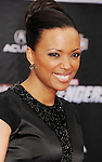 HOLLYWOOD, CA - APRIL 11: Aisha Tyler attends the World premiere of 'Marvel's Avengers' at the El Capitan Theatre on April 11, 2012 in Hollywood, California.