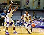University at Albany men's basketball defeats Maine at the  SEFCU Arena, Feb. 24, 2018. David Nichols (#13). (Bruce Dudek / Eclipse Sportswire)