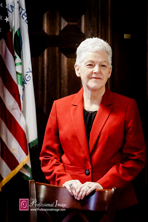 Portrait of Secretary of EPA Gina McCarthy @ Secretaries Office Dept of Environmental Protection<br /> <br /> Photo credit ©John Drew 2017. www.professionalimage.com #professionalimage