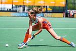 Den Bosch  - Xan de Waard (Ned)   tijdens  de Pro League hockeywedstrijd dames, Nederland-Belgie (2-0).    COPYRIGHT KOEN SUYK