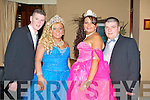 DEBS PRINCESSES: All dress up for the Presentation Secondary School, Listowel Debs Ball at the Abbeygate Hotel on Friday l-r: Edward O'Brien, Castleisland and Donna McCarthy, Donna O'Brien and Michael O'Brien, Listowel.
