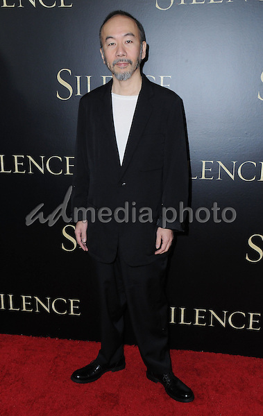 "05 January 2017 - West Hollywood, California - Shinya Tsukamoto. ""Silence"" Los Angeles Premiere held at the Directors Guild of America. Photo Credit: Birdie Thompson/AdMedia"