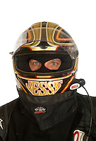 Mar. 18, 2011; Chandler, AZ, USA;  LOORRS driver Jesse James poses for a portrait at Firebird International Raceway. Mandatory Credit: Mark J. Rebilas