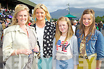 Pictured at Killarney Races on Monday, from left: Margo Kelliher, Angela Kelliher, Abigail Kelliher and Lucy Kelliher from Macroom..