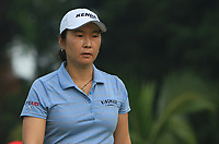 Candie Kung (USA) in action on the 2nd during Round 2 of the HSBC Womens Champions 2018 at Sentosa Golf Club on the Friday 2nd March 2018.<br /> Picture:  Thos Caffrey / www.golffile.ie<br /> <br /> All photo usage must carry mandatory copyright credit (&copy; Golffile | Thos Caffrey)