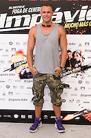 24.07.2012. Presentation at the Madrid Film Academy of the movie 'Impavido&acute;, directed by Carlos Theron and starring by Marta Torne, Selu Nieto, Nacho Vidal, Carolina Bona, Julian Villagran and Manolo Solo. In the image Nacho Vidal  (Alterphotos/Marta Gonzalez) /NortePhoto.com*<br />