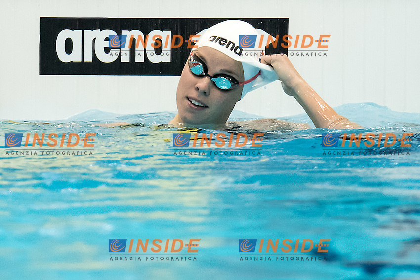 HEEMSKERK Femke NED Netherland<br /> 100 freestyle women<br /> London, Queen Elizabeth II Olympic Park Pool <br /> LEN 2016 European Aquatics Elite Championships <br /> Swimming day 02 finals<br /> Day 09 17-05-2016<br /> Photo Giorgio Scala/Deepbluemedia/Insidefoto