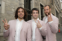 le groupe quebecois The Lost Fingers, juin 2009<br /> <br /> PHOTO :  Agence Quebec Presse