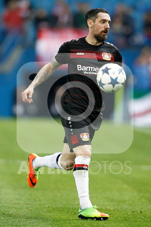 Bayer 04 Leverkusen's Roberto Hilbert during Champions League 2016/2017 Round of 16 2nd leg match. March 15,2017. (ALTERPHOTOS/Acero)