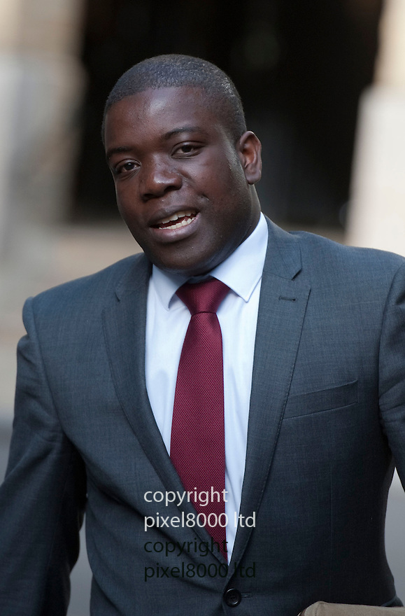 Kweku Adeboli arrives at Sothwark Crown Court today for the resumption of his trial..UBS 'rogue trader' Kweku Adoboli almost cost the bank £7.4bn, court hears...Pic by Gavin Rodgers/Pixel 8000 Ltd 17.9.12.