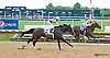 Edyanne winning at Delaware Park on 7/13/13