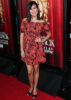 HOLLYWOOD, LOS ANGELES, CA, USA - NOVEMBER 05: Zoe Chao arrives at the Los Angeles Premiere Of HBO's 'The Comeback' held at the El Capitan Theatre on November 5, 2014 in Hollywood, Los Angeles, California, United States. (Photo by Xavier Collin/Celebrity Monitor)