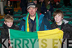 CASTLE AT HEART: Cian, Seamus and Jimmy O'Grady having a great time at the All-Ireland Junior Club Championship semi-final at Gaelic Grounds on Sunday.