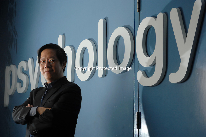 Samuel M.Y.Ho of the Department of Psychology at the University of Hong Kong.<br /> 13 Feb 2007