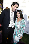 Jason Goldberg and Soleil Moon Frye arrive at 7th Annual Chrysalis Butterfly Ball on May 31, 2008 at a Private Residence in Los Angeles, California.