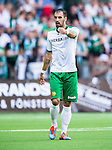 Stockholm 2014-05-24 Fotboll Superettan Hammarby IF - Varbergs BoIS FC  :  <br /> Hammarbys Marko Mihajlovic <br /> (Foto: Kenta J&ouml;nsson) Nyckelord:  Superettan Tele2 Arena HIF Bajen Varberg BoIS portr&auml;tt portrait