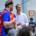 ROTTERDAM  - NK Zaalhockey . finale heren: SCHC-Amsterdam (2-2, SCHC wint shoot-outs) .coach Michiel van der Struijk (SCHC)   COPYRIGHT KOEN SUYK