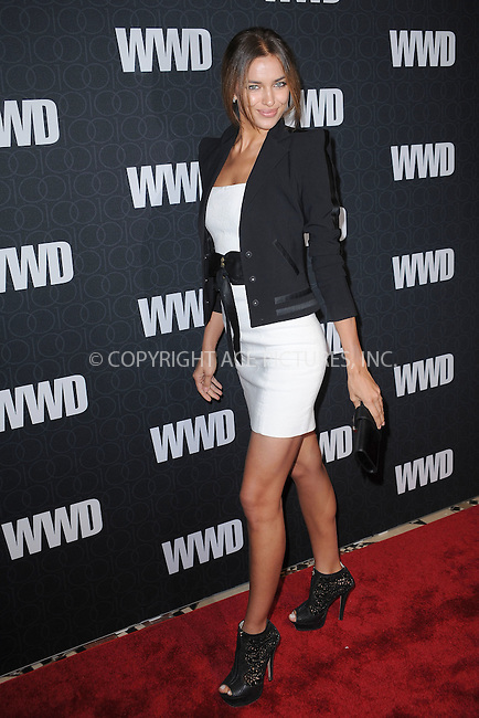 WWW.ACEPIXS.COM . . . . . .November 2, 2010...New York City...Irina Shayk attends the WWD @ 100 Anniversary Party at Cipriani 42nd Street on November 2, 2010 in New York City....Please byline: KRISTIN CALLAHAN - ACEPIXS.COM.. . . . . . ..Ace Pictures, Inc: ..tel: (212) 243 8787 or (646) 769 0430..e-mail: info@acepixs.com..web: http://www.acepixs.com .
