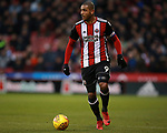 Leon Clarke of Sheffield Utd during the Championship match at Bramall Lane Stadium, Sheffield. Picture date 26th December 2017. Picture credit should read: Simon Bellis/Sportimage
