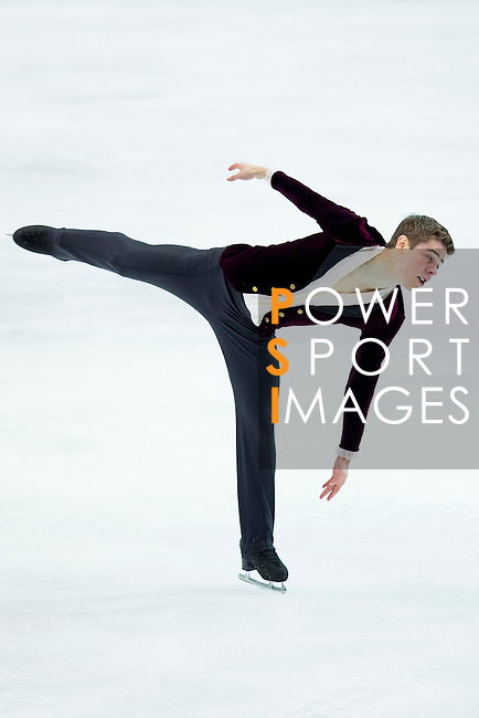 TAIPEI, TAIWAN - JANUARY 22:  Richard Dornbush of USA competes in the Men Short Program event during the Four Continents Figure Skating Championships on January 22, 2014 in Taipei, Taiwan.  Photo by Victor Fraile / Power Sport Images *** Local Caption *** Richard Dornbush