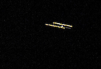 UFO Craft over Elliott Bay, south of Seattle Center/vantage point.<br />
