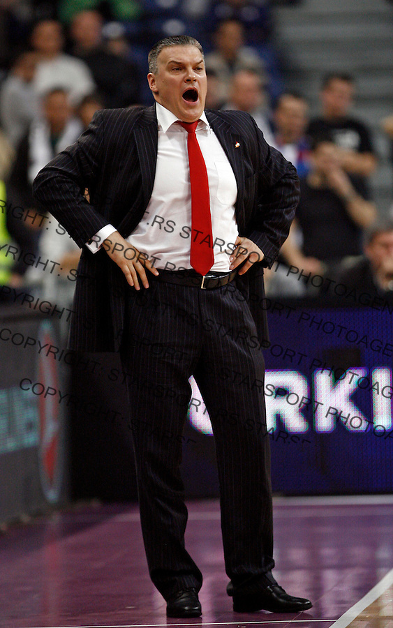 Evgeny Pashutin Euroleague, Evroliga, Partizan - Lokomotiv Kuban Januar 31, 2014. in Belgrade, Serbia (credit image & photo: Pedja Milosavljevic / STARSPORT / +318 64 1260 959 / thepedja@gmail.com)