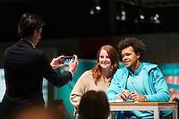 ABN AMRO World Tennis Tournament, Rotterdam, The Netherlands, 13 februari, 2017, Jo-Wilfried Tsonga (FRA) <br /> Photo: Henk Koster