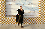 Riccione 1989-90, Pier Vittorio Tondelli ritratto sulla spiaggia