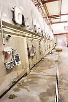 concrete vats domaine sang des cailloux vacqueyras rhone france