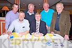 David Herlihy, Jim Gleeson, Donal Cronin, John Wickham, Liam Chute and Johnny Cronin at the Spa GAA 31 card drive in Darby O'Gills, Killarney  on Friday night.