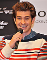 "Andrew Garfield, June 13, 2012 :  Tokyo, Japan :Actor Andrew Garfield attends a press conference for the film ""The Amazing Spider-Man"" in Tokyo, Japan, on June 13, 2012. The film will open on June 30 in Japan."