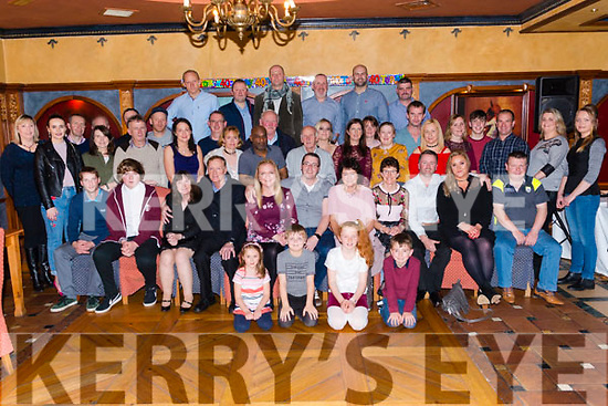 Ray O'Callaghan from Killarney celebrated his 40th birthday surrounded by friends and family in the Avenue Hotel, Killarney last Friday night.