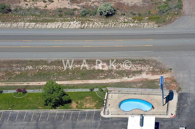 Highway 50 Utah with pool