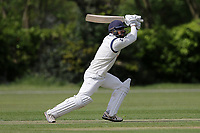 Z Shahzad in batting action for Wanstead during Brentwood CC vs Wanstead and Snaresbrook CC (batting), Shepherd Neame Essex League Cricket at The Old County Ground on 11th May 2019