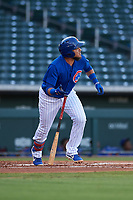 AZL Cubs 1 designated hitter Cristhian Adames (2) at bat during a rehab assignment in an Arizona League game against the AZL Royals on June 30, 2019 at Sloan Park in Mesa, Arizona. AZL Royals defeated the AZL Cubs 1 9-5. (Zachary Lucy/Four Seam Images)