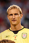 3 August 2004: Sami Hyypia. Liverpool of the English Premier League defeated AS Roma of Italy's La Liga 2-1 at Giants Stadium in the Meadowlands Complex in East Rutherford, NJ in a ChampionsWorld Series friendly match..