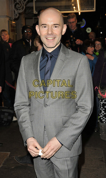 LONDON, ENGLAND - FEBRUARY 25: Daniel Evans attends the &quot;The Full Monty&quot; press night, Noel Coward Theatre, St Martin's Lane, on Tuesday February 25, 2014 in London, England, UK.<br /> CAP/CAN<br /> &copy;Can Nguyen/Capital Pictures