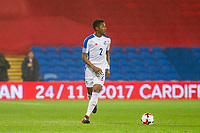 Michael Amir Murillo of Panama during the International Friendly match between Wales and Panama at the Cardiff City Stadium, Cardiff, Wales on 14 November 2017. Photo by Mark Hawkins.