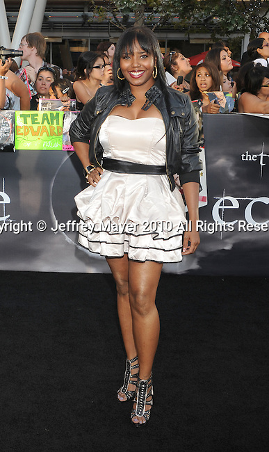 "LOS ANGELES, CA. - June 24: Shar Jackson arrives to the premiere of ""The Twilight Saga: Eclipse"" during the 2010 Los Angeles Film Festival at Nokia Theatre L.A. Live on June 24, 2010 in Los Angeles, California."