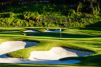 A general view of the 6th green during previews of the The Genesis Invitational, Riviera Country Club, Pacific Palisades, Los Angeles, USA. 10/02/2020<br /> Picture: Golffile | Phil Inglis<br /> <br /> <br /> All photo usage must carry mandatory copyright credit (© Golffile | Phil Inglis)