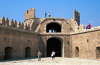 maurische Festung Alcazaba in Almeria, Andalusien, Spanien