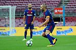 League Santander 2017/2018 - Game: 7.<br /> FC Barcelona vs UD Las Palmas: 3-0.<br /> Andres Iniesta.