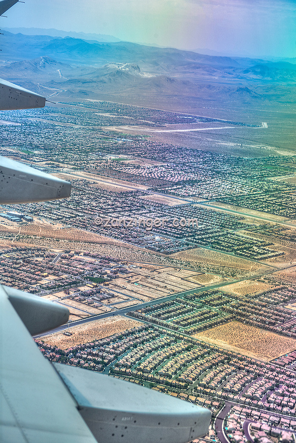 Aerial city view, buildings, traffic, perspective, outdoors, highway, infrastructure, aerial