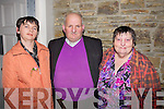 DANCING: Catherine Diggins, Francis and Eileen Langford (Blennerville) who enjoyed the Kerry Hospice Pallative Care 2nd annaul dance in The Earl of Desmond Hotel, Tralee on Friday night...................