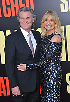 www.acepixs.com<br /> <br /> May 10 2017, LA<br /> <br /> Kurt Russell and Goldie Hawn arriving at the premiere of 'Snatched' at the Regency Village Theatre on May 10, 2017 in Westwood, California<br /> <br /> By Line: Peter West/ACE Pictures<br /> <br /> <br /> ACE Pictures Inc<br /> Tel: 6467670430<br /> Email: info@acepixs.com<br /> www.acepixs.com