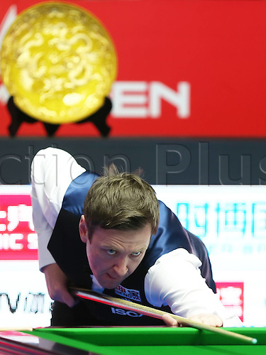 03.04.2016. Beijing, China.  Ricky Walden of England during the final of the 2016 World Snooker China Open Tournament against his compatriot Judd Trump in Beijing,  China, April 3, 2016.