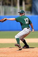 March 23, 2010:  Pitcher Ryan Smith of the Dartmouth Big Green during a game at the Chain of Lakes Stadium in Winter Haven, FL.  Photo By Mike Janes/Four Seam Images